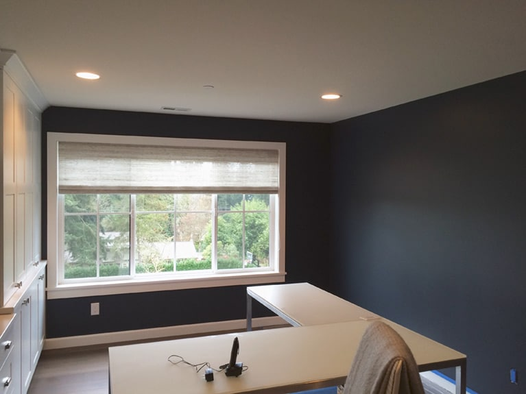 Bellevue Washington interior painting project by Armadillo Painting