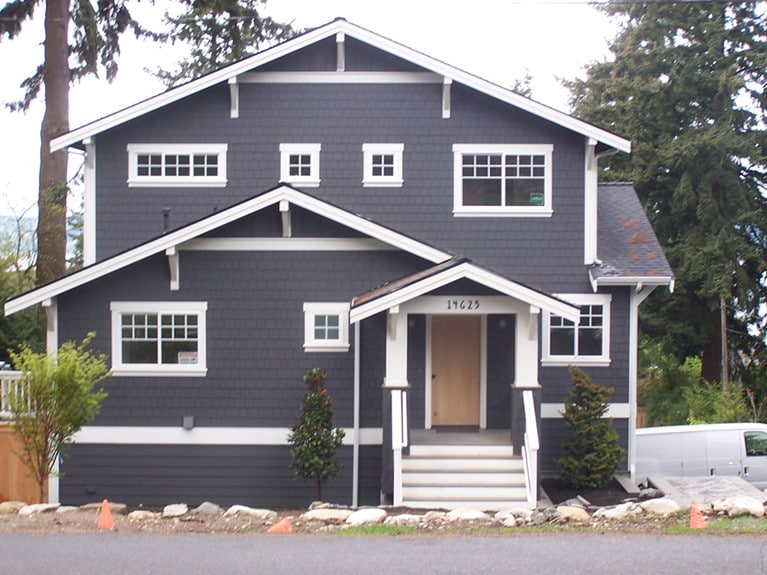 Burien New Construction Home by Armadillo Painting