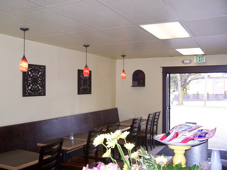 Commercial Painting in Seattle Corazon Taqueria 2