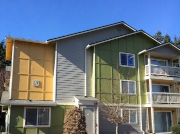 Family Tree multi-family painting project Everett, Washington by Armadillo Painting
