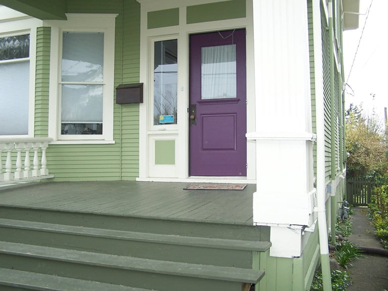 External painting in Leschi Seattle by Armadillo Painting 7