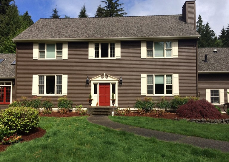 Woodinville exterior Exterior residential painting painting project by Armadillo Painting 2