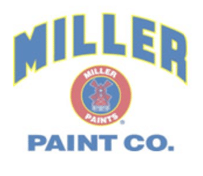 Miller Paint Company logo on hover