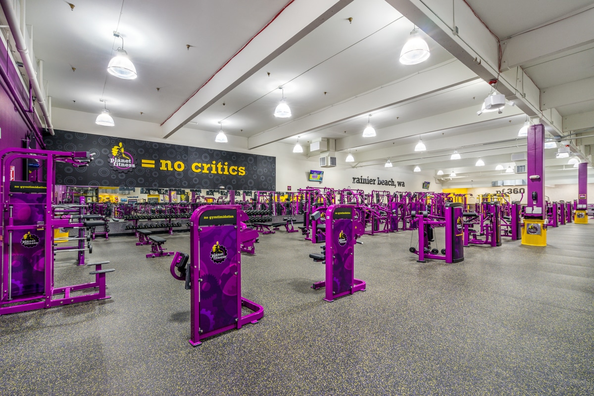 Planet Fitness commercial project Armadillo Painting