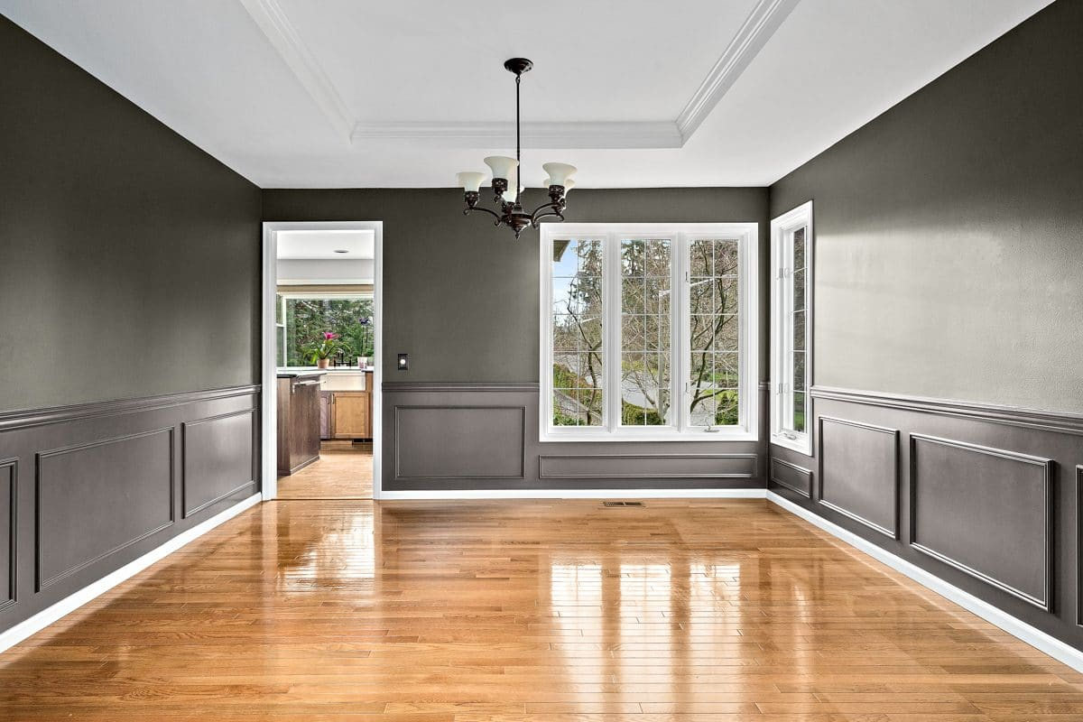 Interior Residential Painting in Issaquah as done by Armadillo Painting