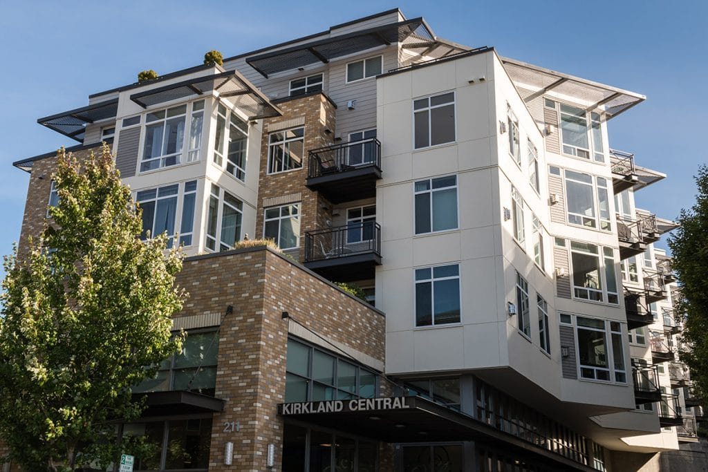 Kirkland Central Multifamily Commercial painting